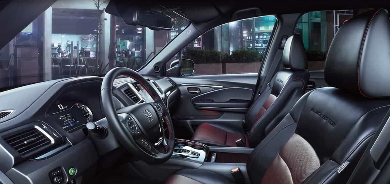 2020 Honda Ridgeline Cockpit