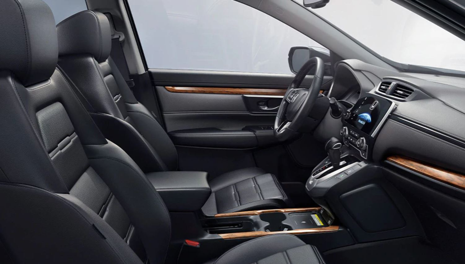 Front Row of the 2020 CR-V Hybrid