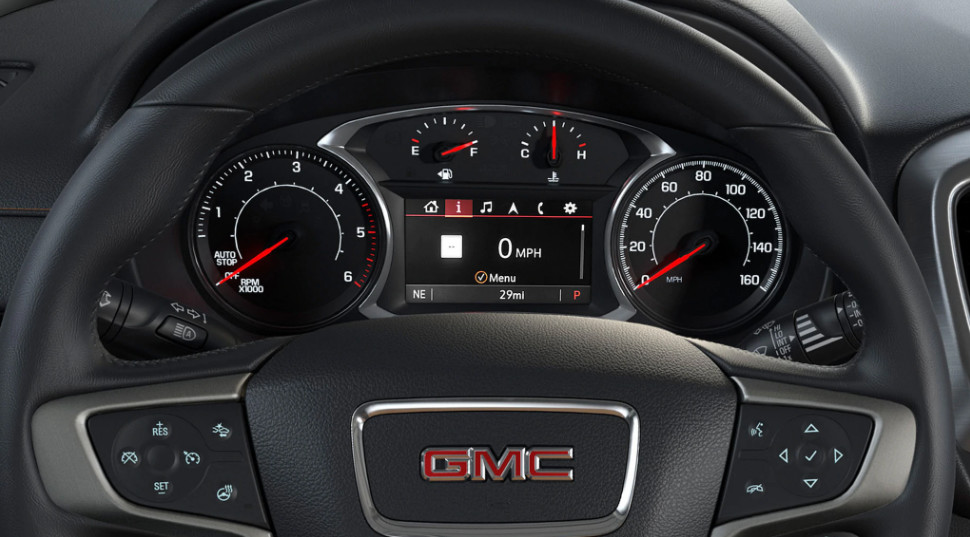 Power in the 2020 GMC Terrain