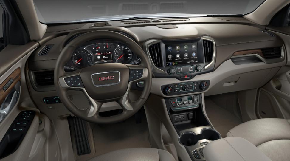 2020 GMC Terrain Cockpit