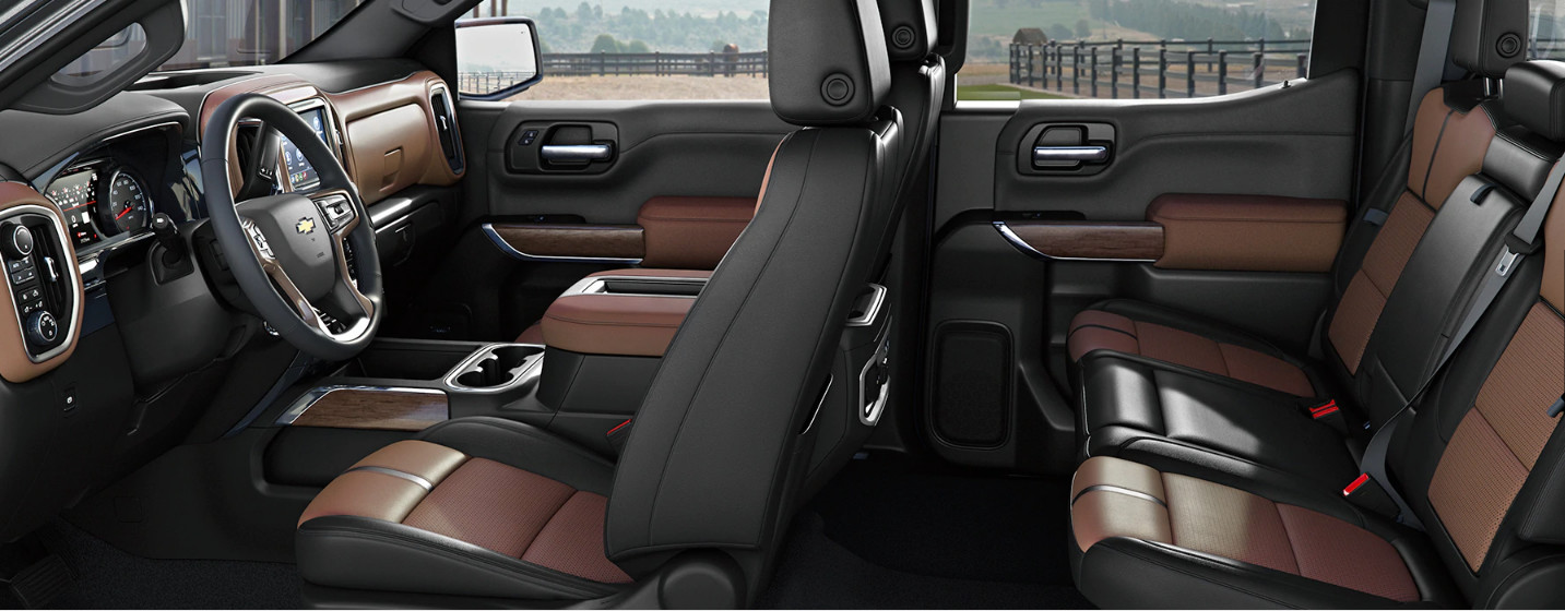 Cabin of the 2020 Chevy Silverado 1500