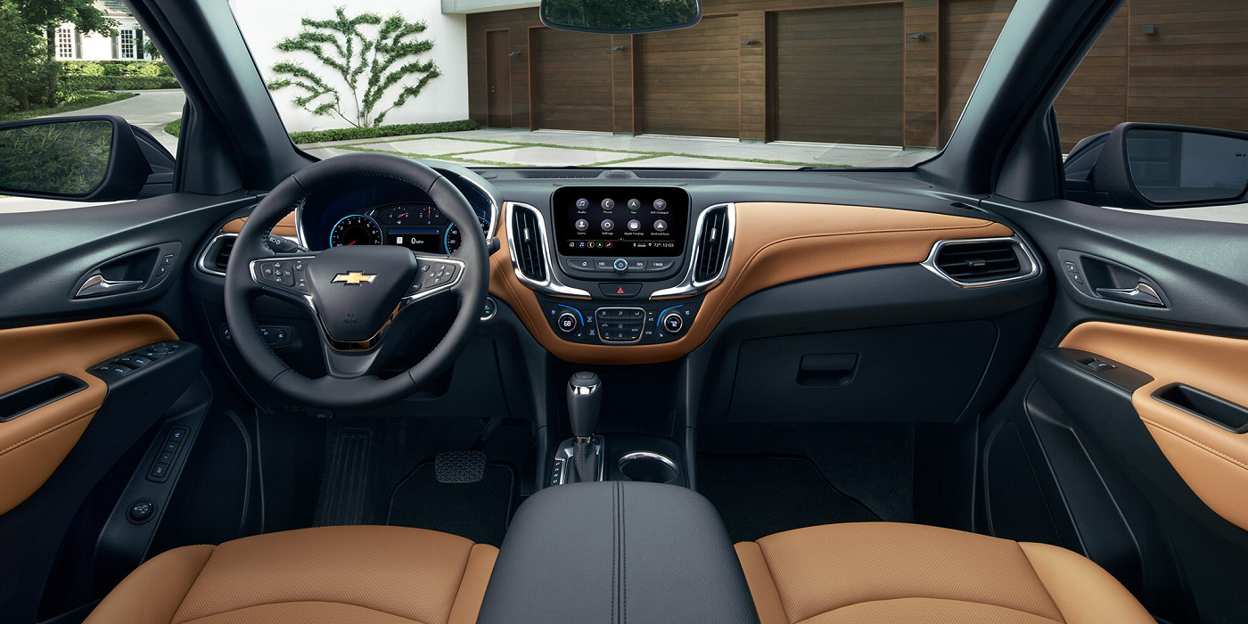 Modern Cabin of the 2020 Chevrolet Equinox