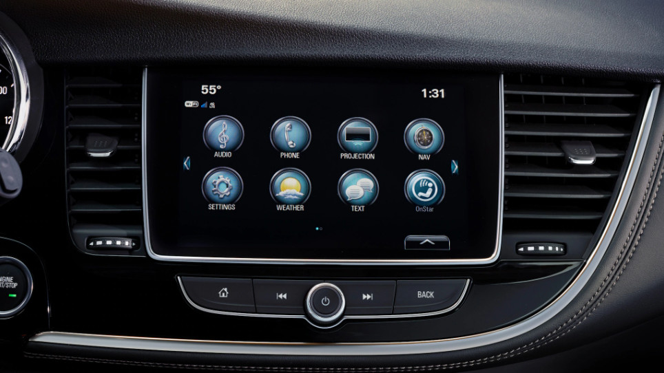 2019 Buick Encore Infotainment