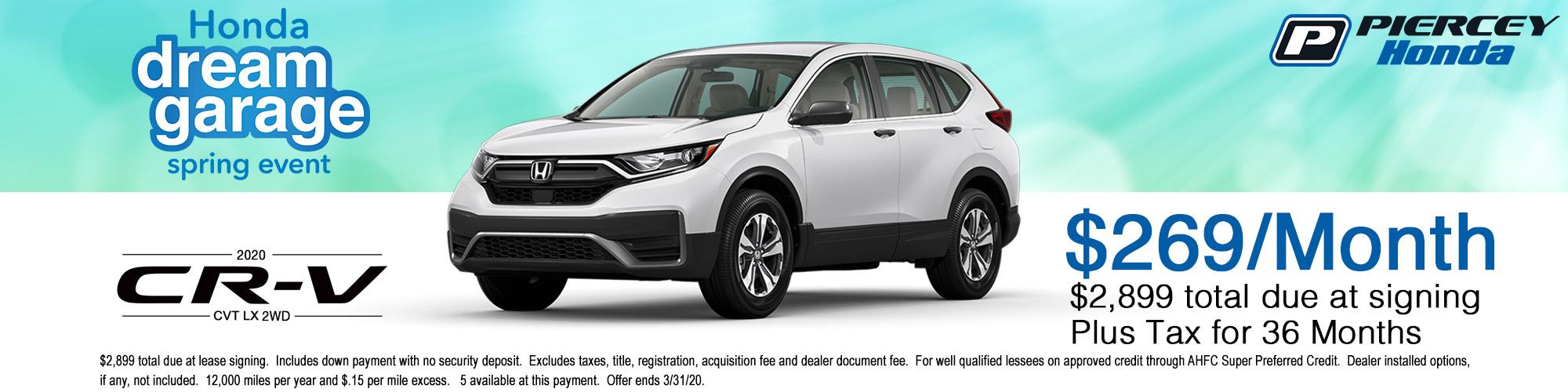 2020 Honda CR-V LX Lease Offer