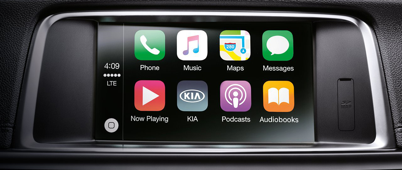 2020 Kia Optima Apple CarPlay®