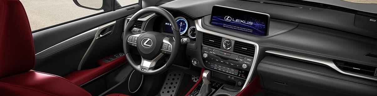 2020 Lexus RX 350 Dashboard