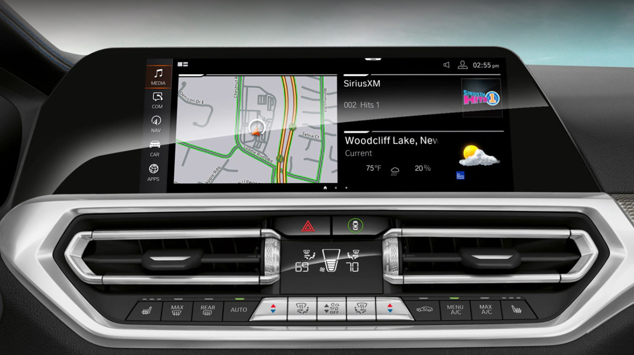 2020 BMW 3 Series Available iDrive 7.0 Operating System