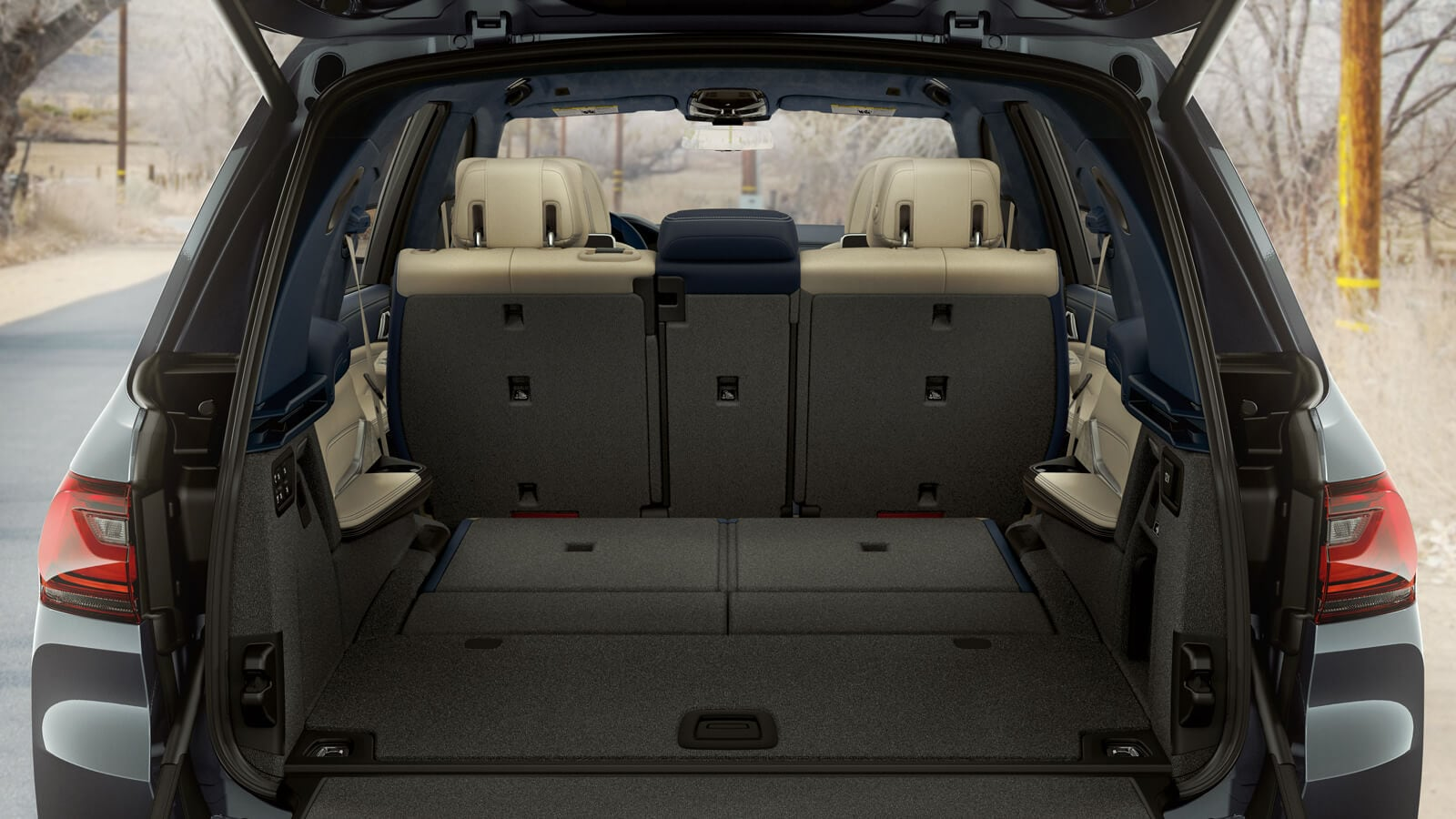 2020 BMW X7 Interior Cargo Space
