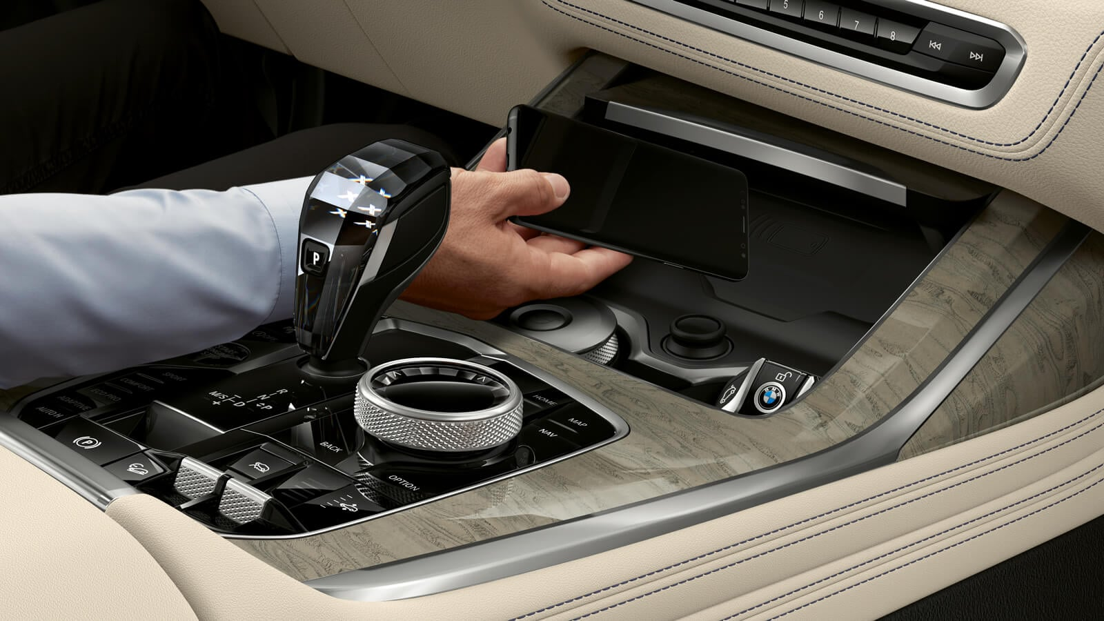 2020 BMW X7 Wireless Charging Technology