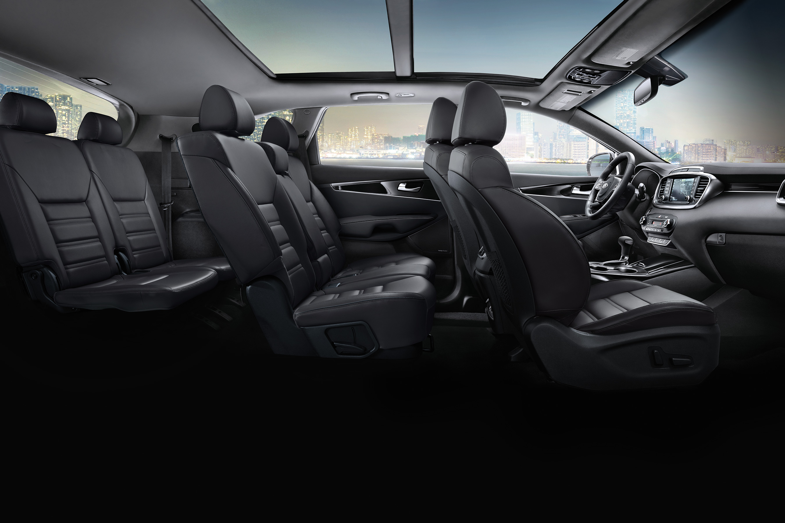 Interior of the 2020 Sorento