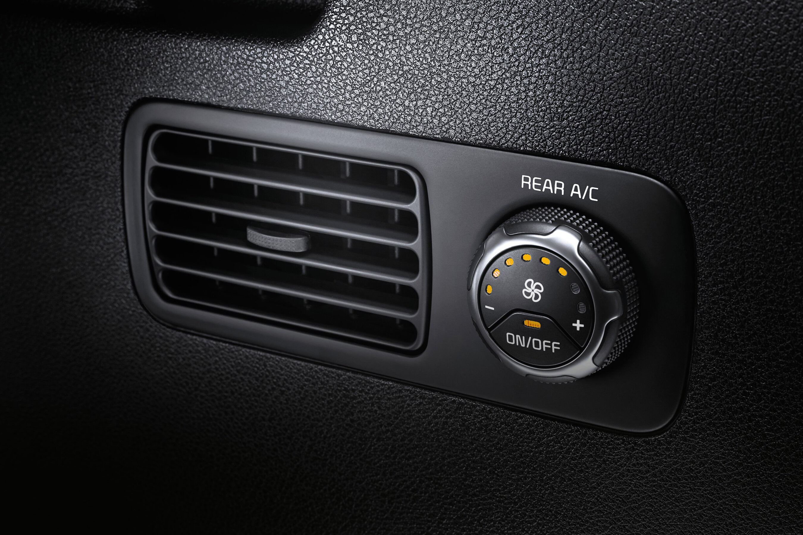 Rear Air Conditioning in the 2020 Kia Sorento