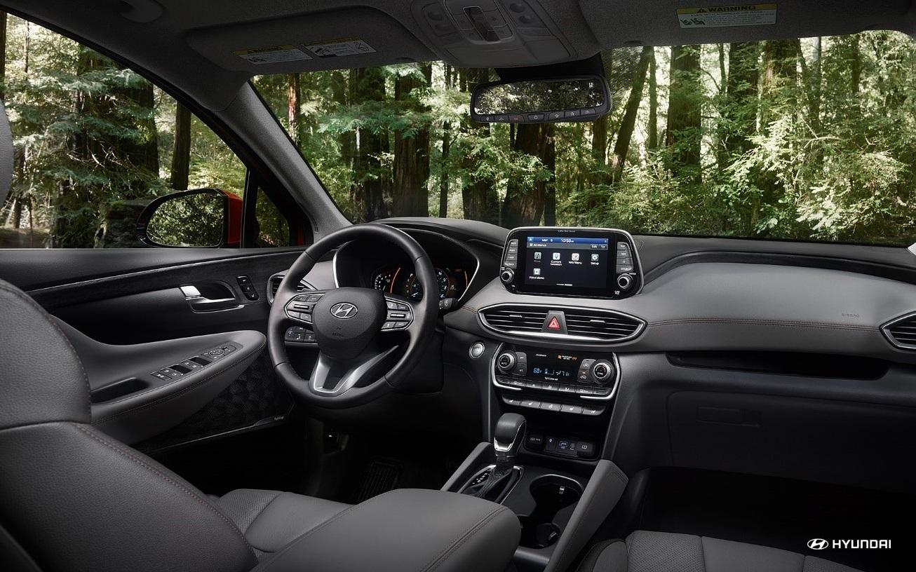 2020 Hyundai Santa Fe Dashboard