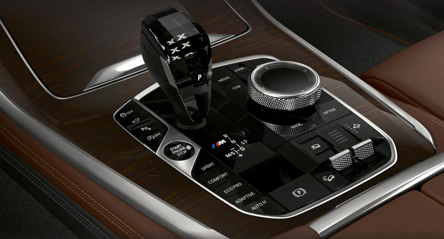 2020 BMW X5 Gearshift