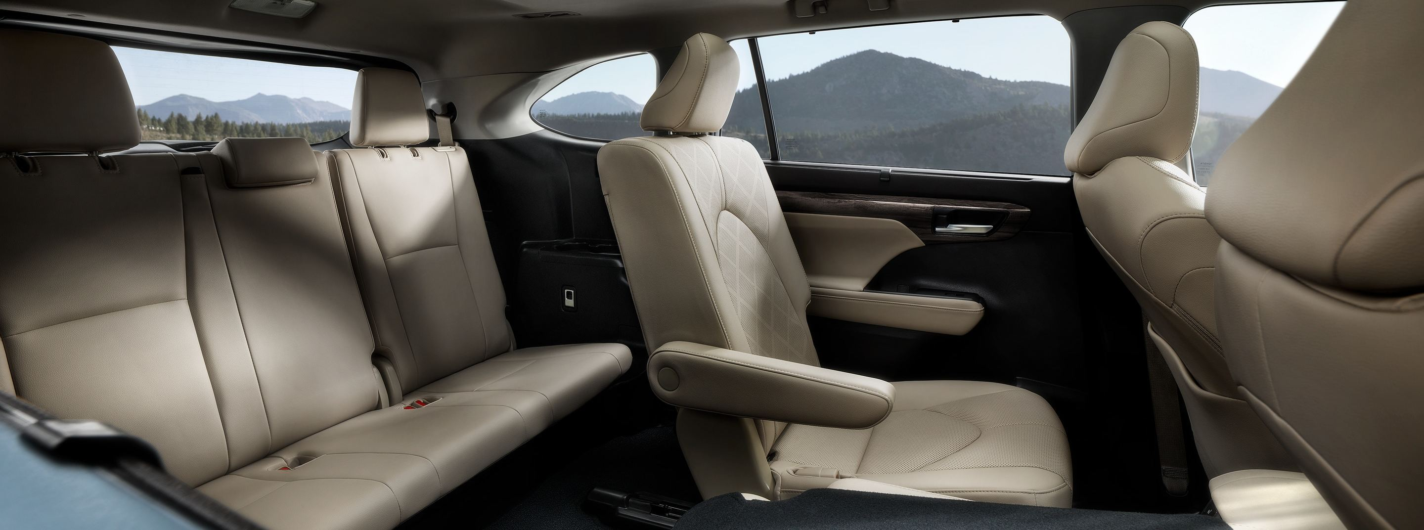 Cabin of the 2020 Highlander