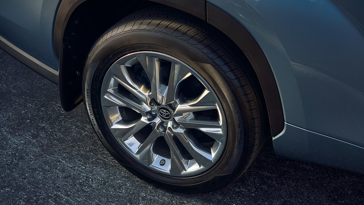 Exterior Details on the 2020 Toyota Highlander