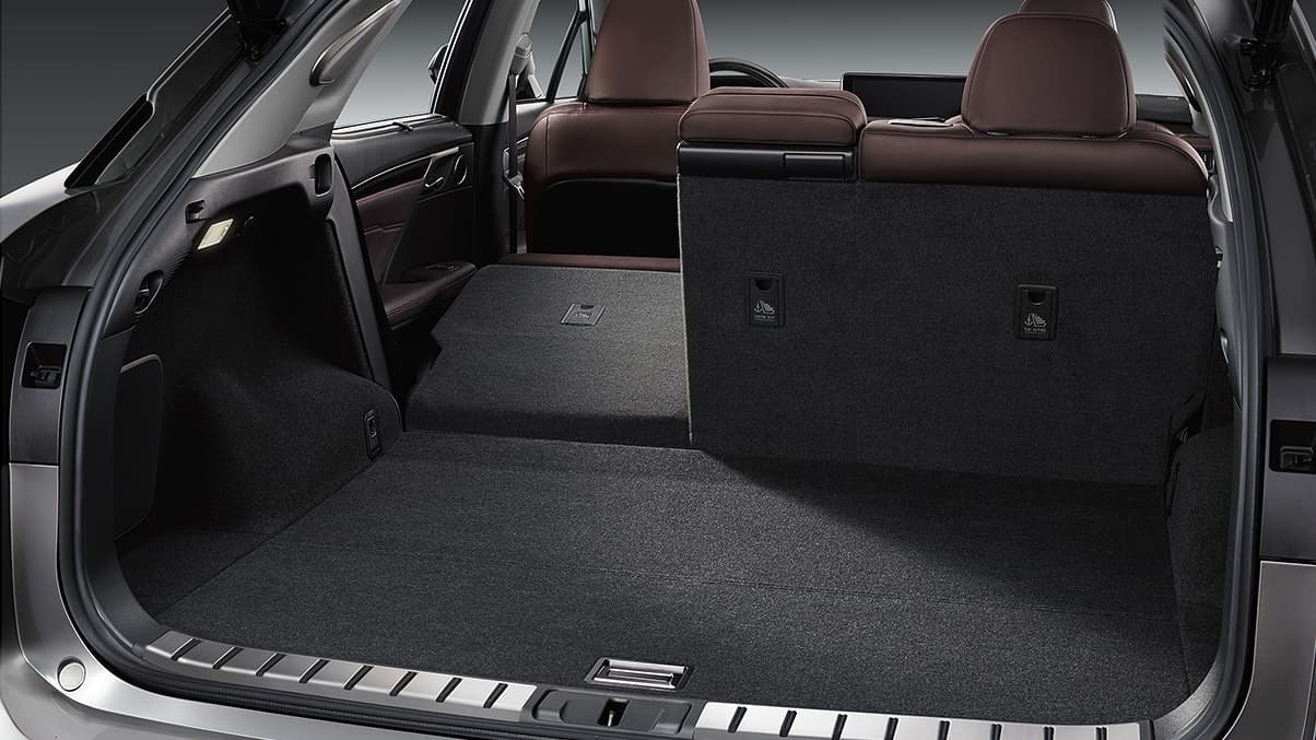 Cargo Space in the 2020 RX 350