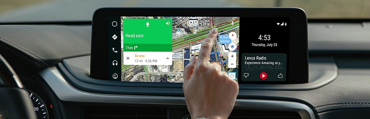 Touchscreen in the 2020 RX 350
