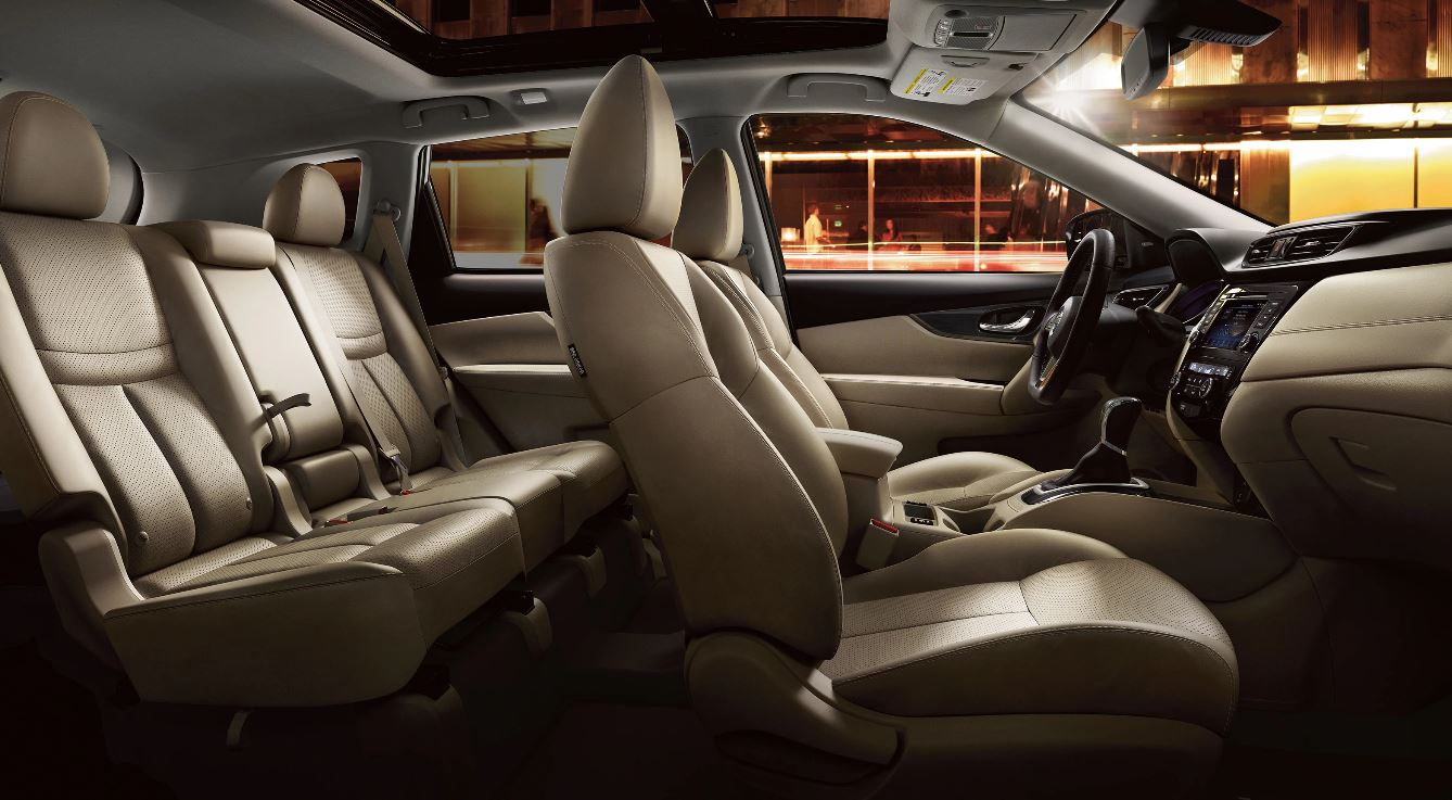 Cabin of the 2020 Nissan Rogue
