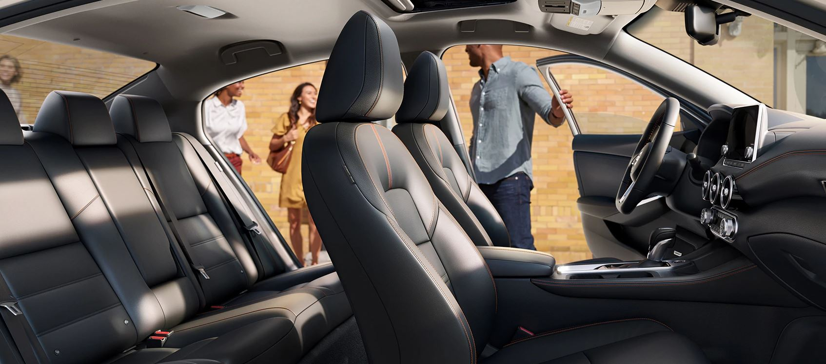 Cabin of the 2020 Sentra
