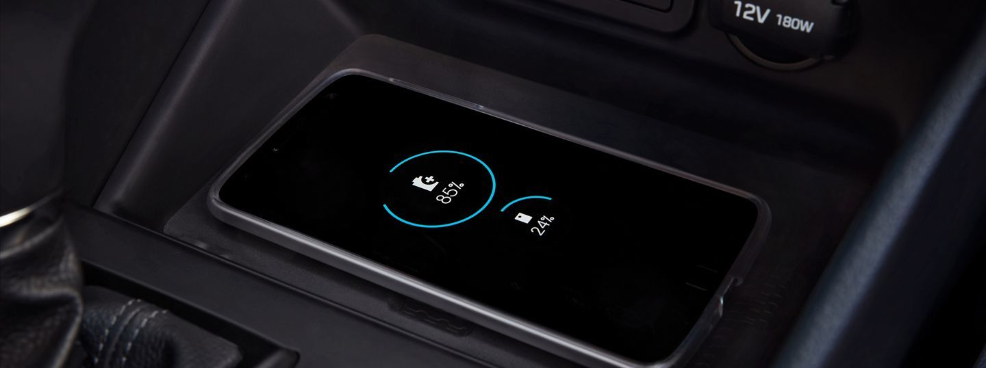 Charge Your Devices Quickly in the 2020 Hyundai Tucson!