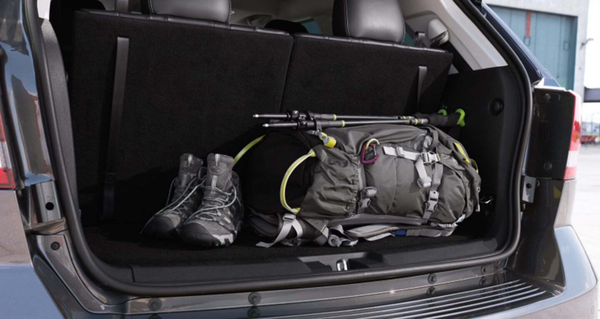 Trunk Space in the 2020 Dodge Journey
