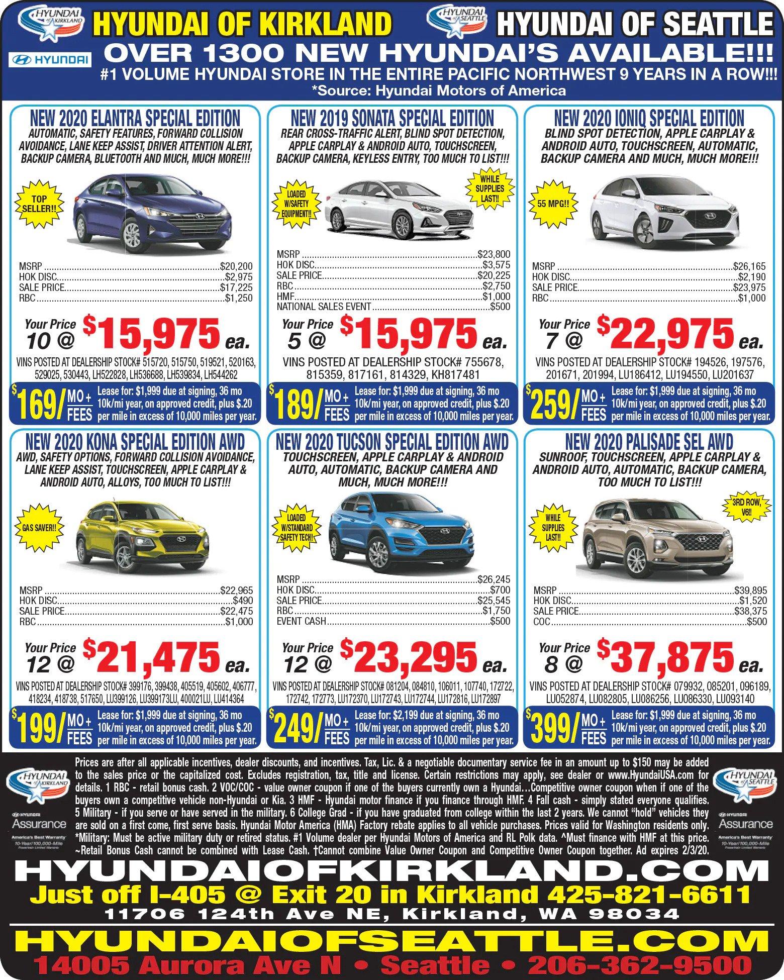 Weekly Newspaper Ad