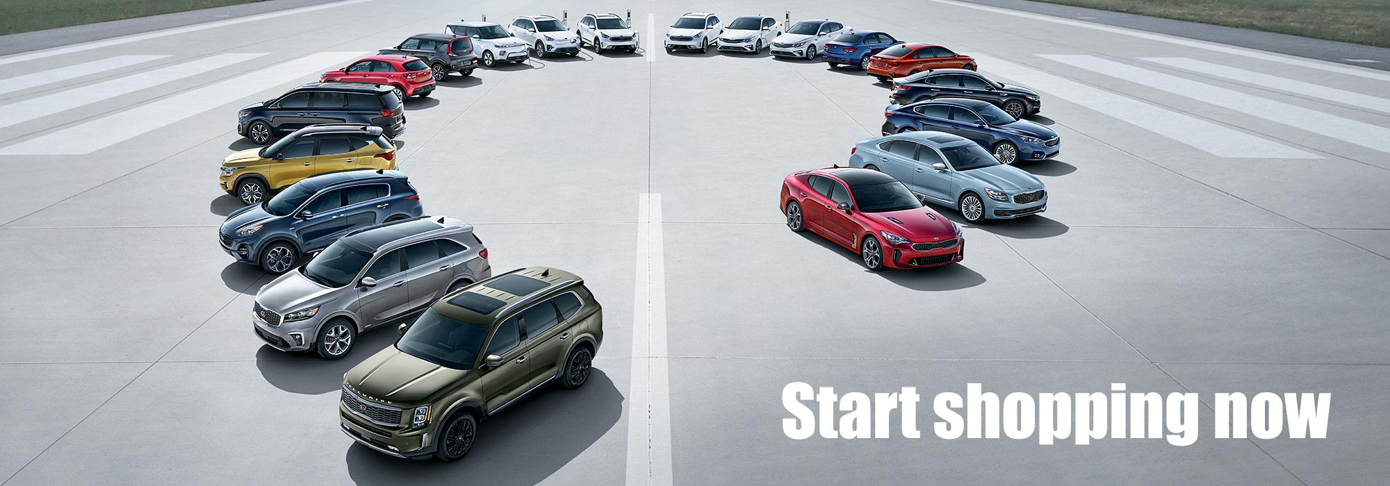 All New Kia Lineup- Shop Now