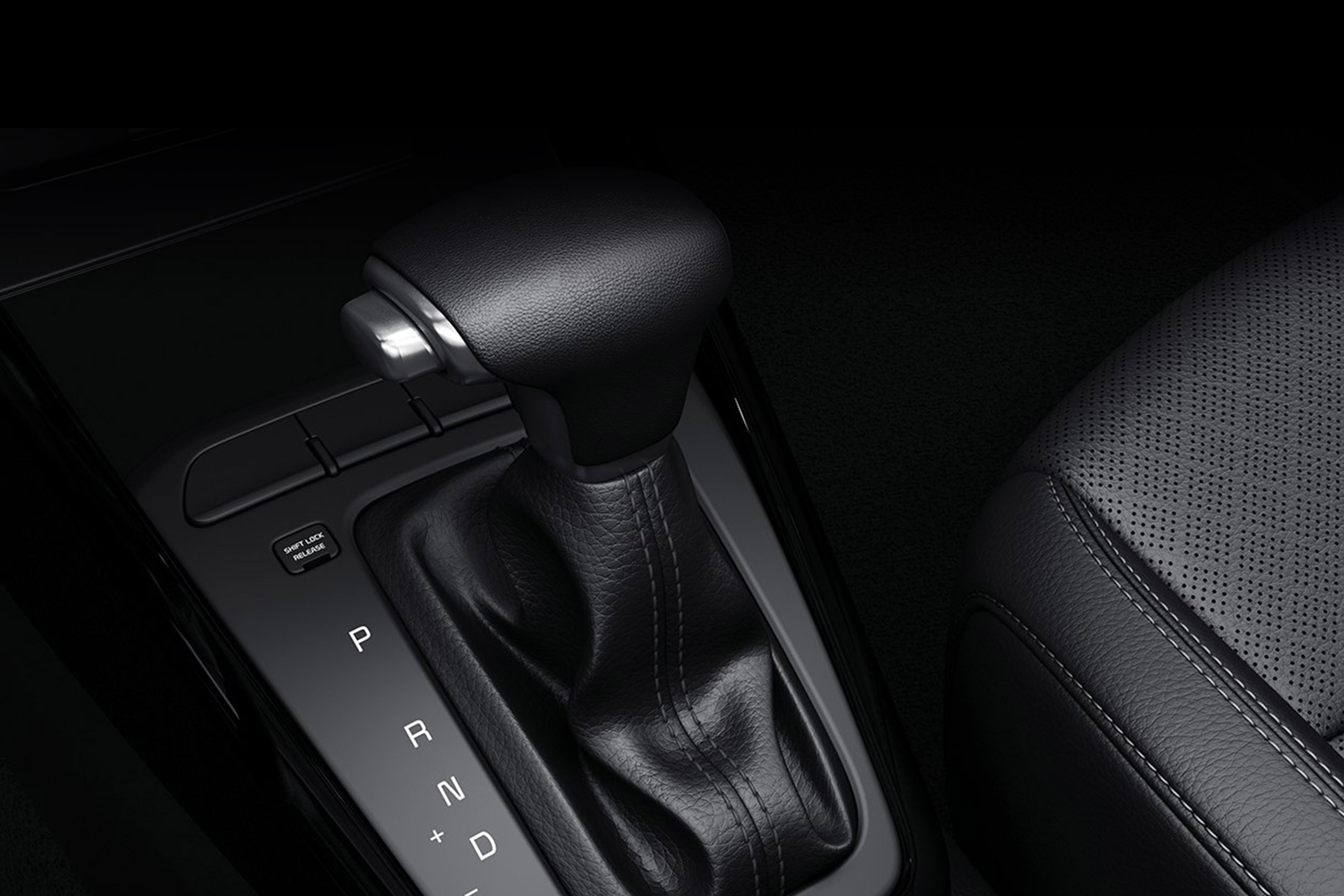 2020 Kia Rio Gear Shift