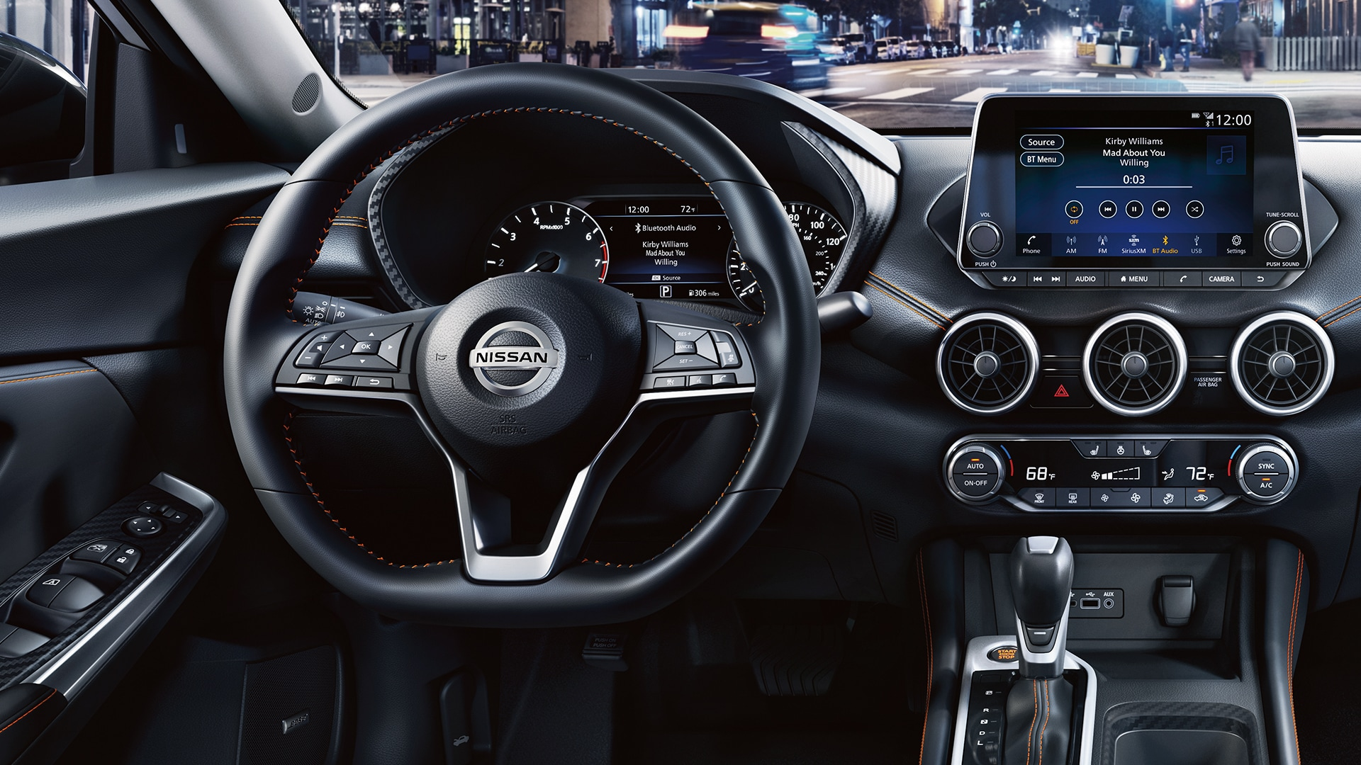 In the Driver's Seat of the 2020 Nissan Sentra
