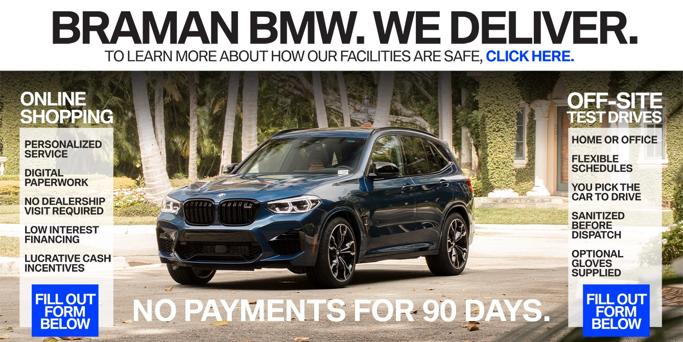 West Palm Beach BMW Delivery