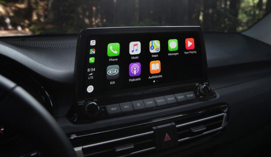 2021 Seltos Touchscreen