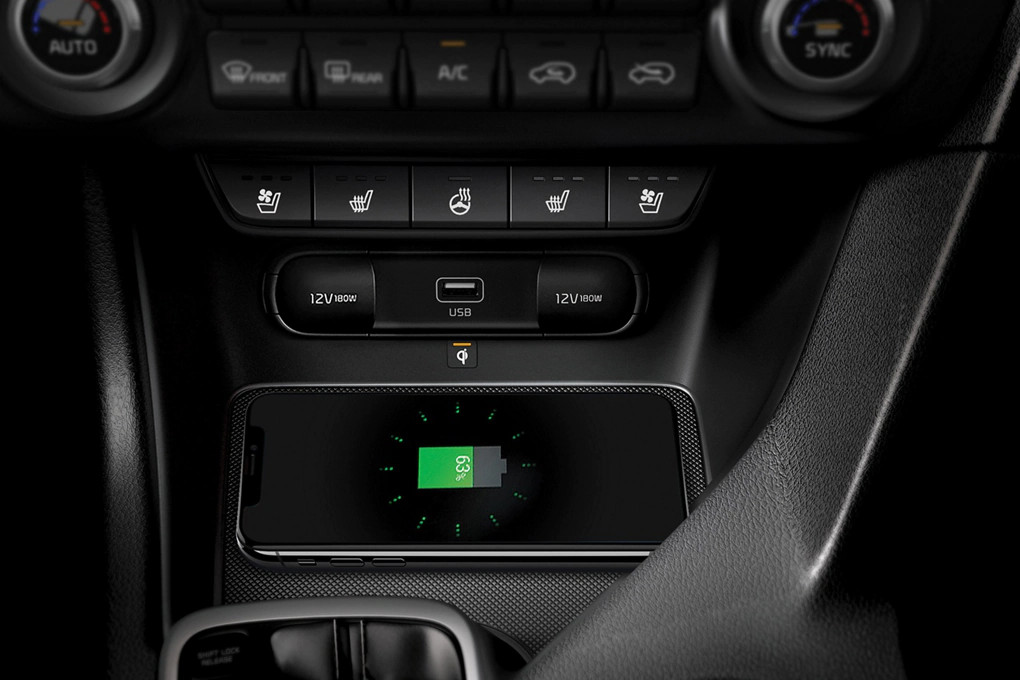 Wireless Charging in the 2020 Sportage