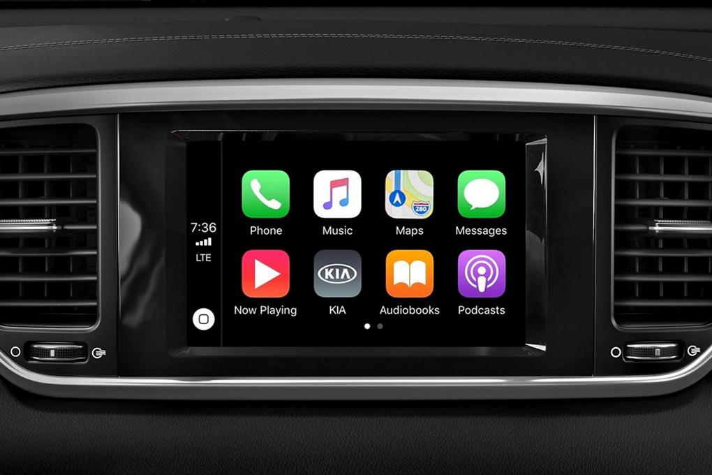 Apple CarPlay in the 2020 Sportage