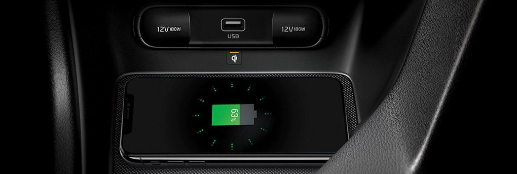 2020 Sportage Wireless Charger