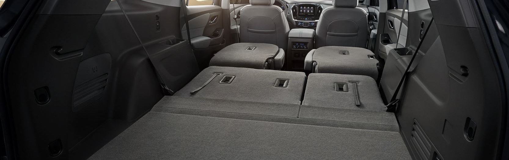 There's Plenty of Space in the 2020 Chevrolet Traverse!