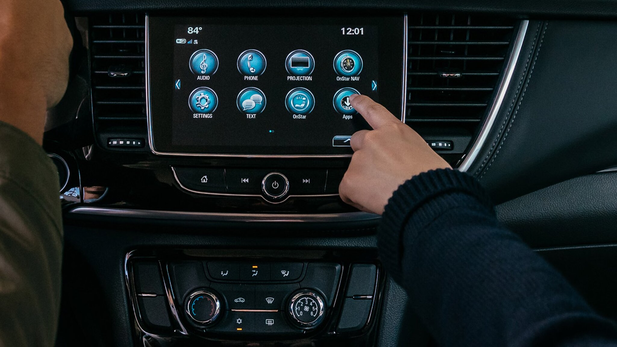 Infotainment in the 2020 Buick Encore