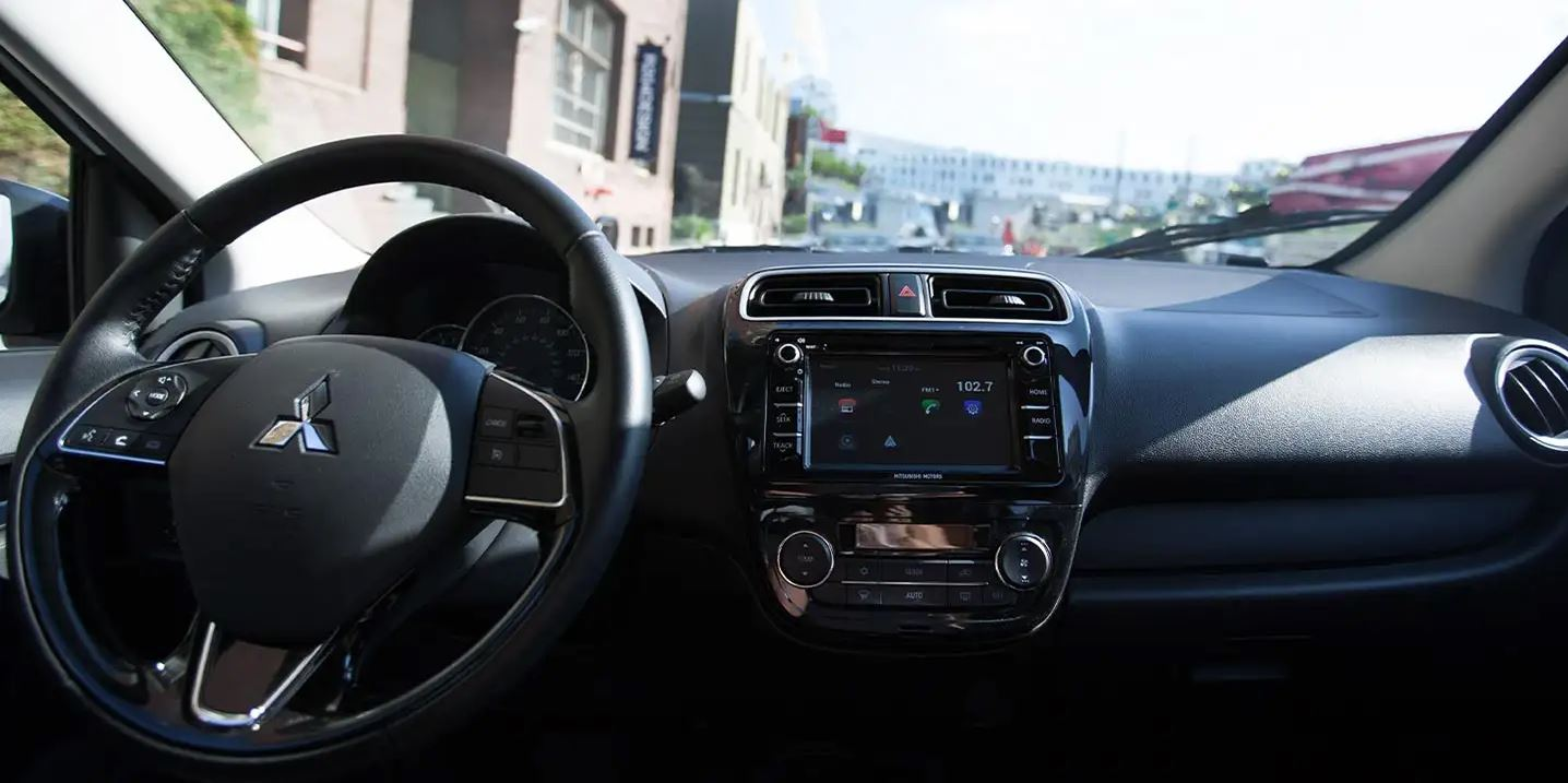 Interior of the 2020 Mirage G4