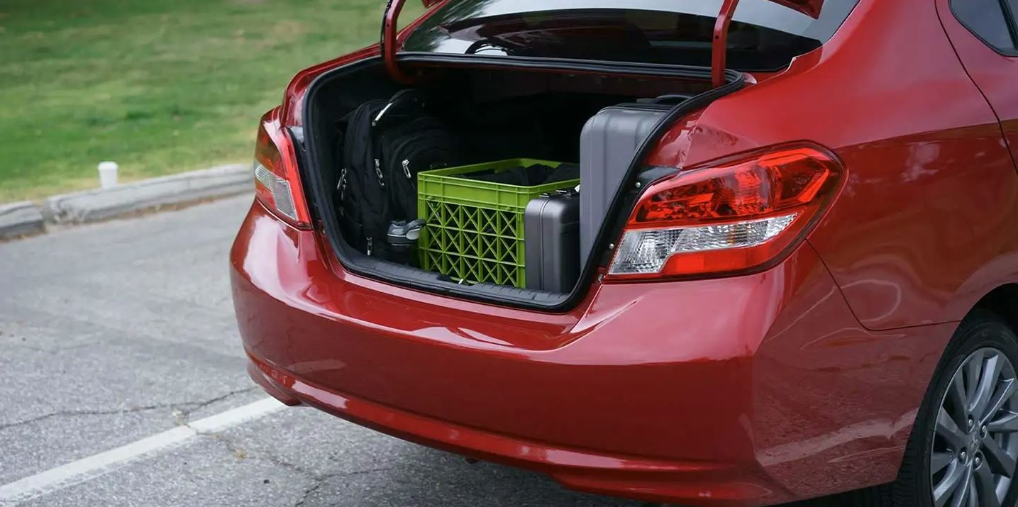 Trunk of the 2020 Mirage G4