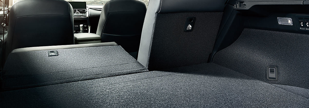 2020 Lexus NX 300 Storage Area