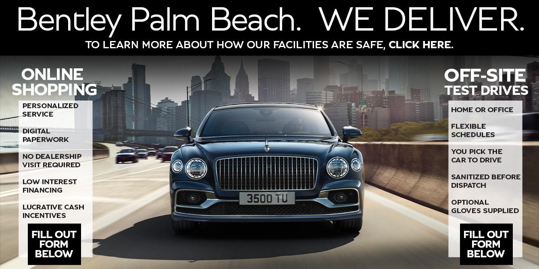 Bentley Home Delivery Program | South Florida