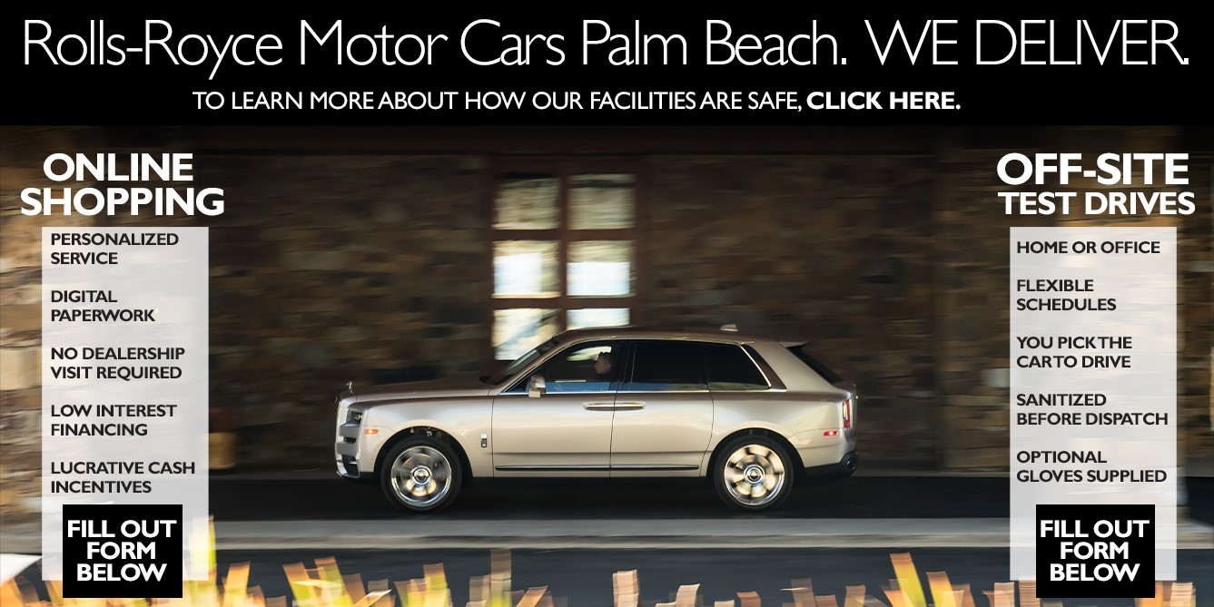 Rolls Royce Home Delivery Program | South Florida
