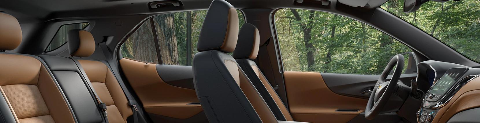 Interior of the 2020 Chevrolet Equinox