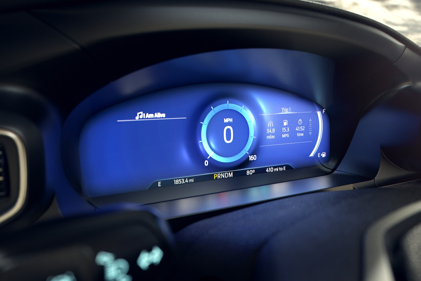 2020 Ford Explorer Dashboard
