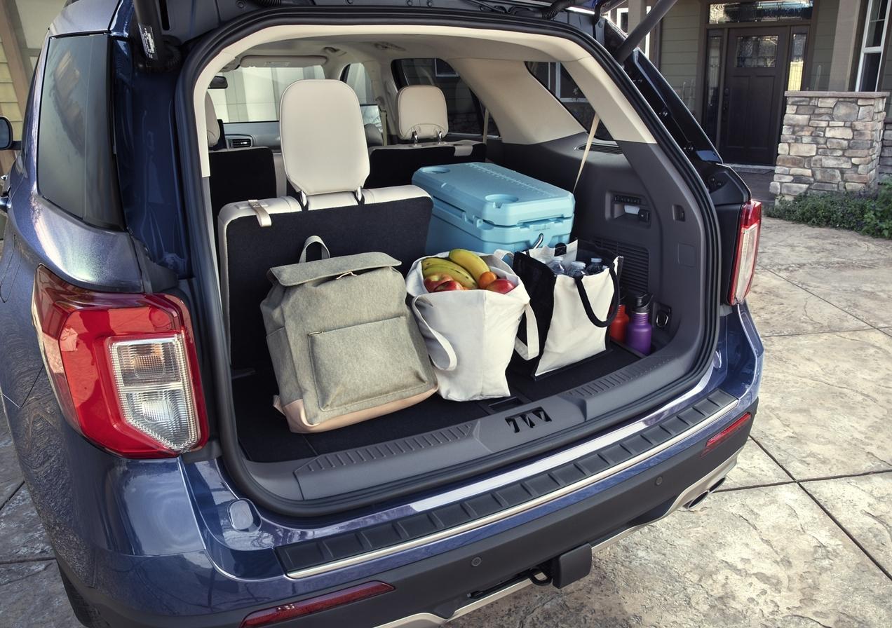 2020 Ford Explorer Cargo Area