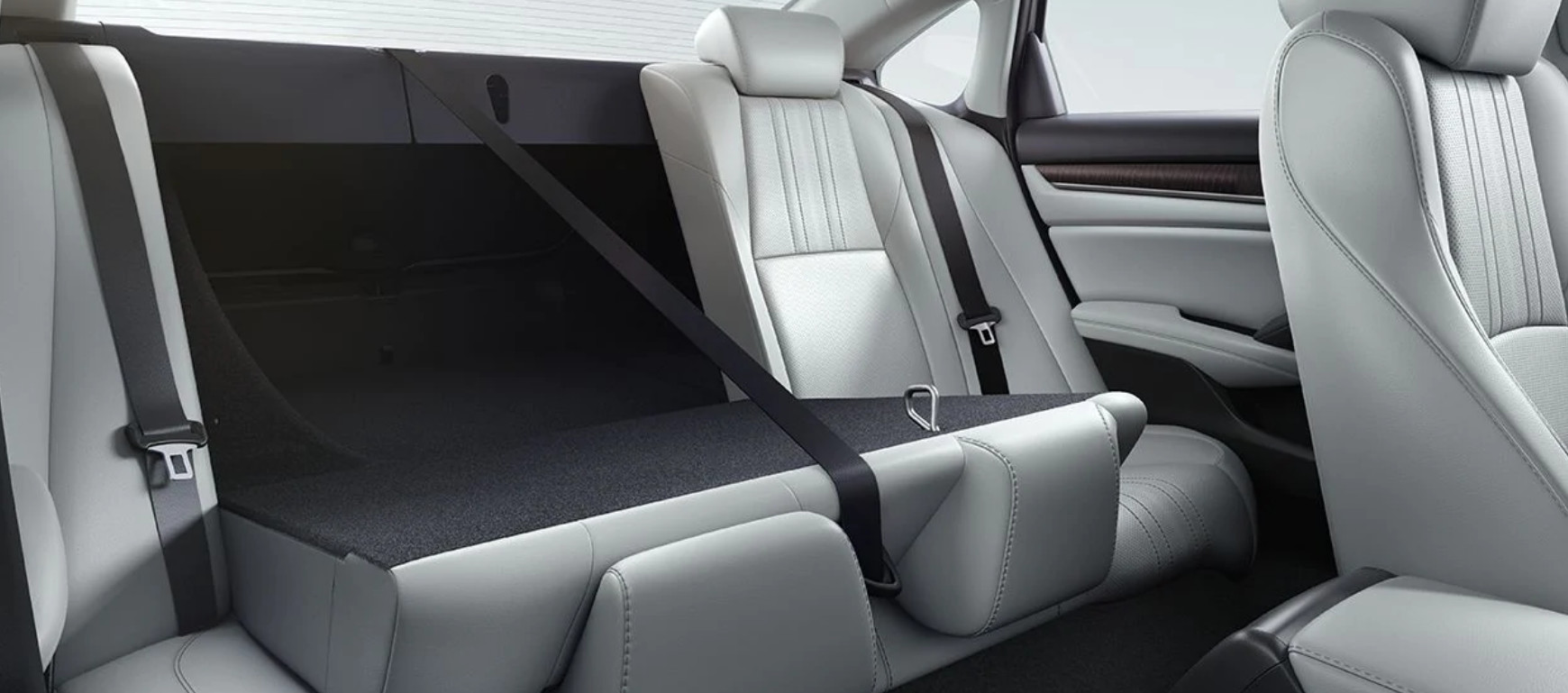 Second Row of the 2020 Accord