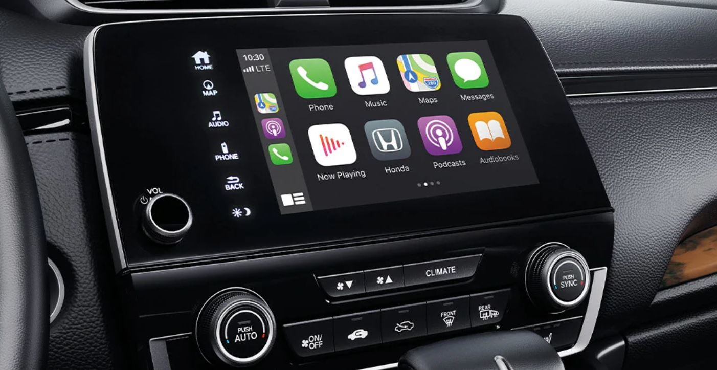 Touchscreen in the 2020 CR-V