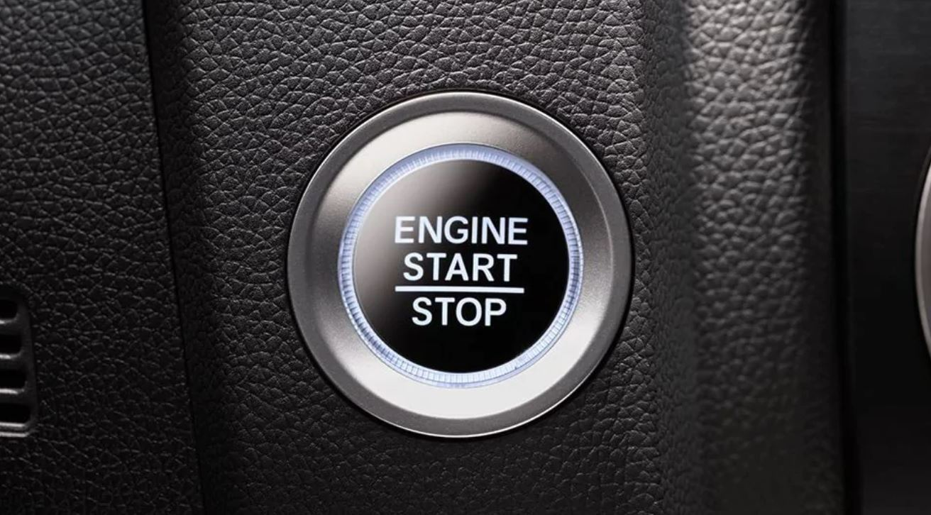 Push Button Start in the 2020 CR-V