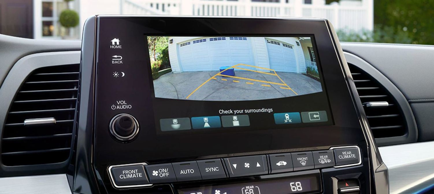 Touchscreen in the 2020 Odyssey