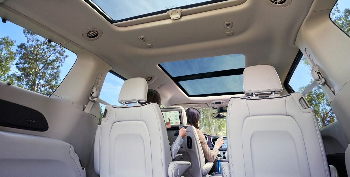Commodious Cabin of the 2020 Pacifica