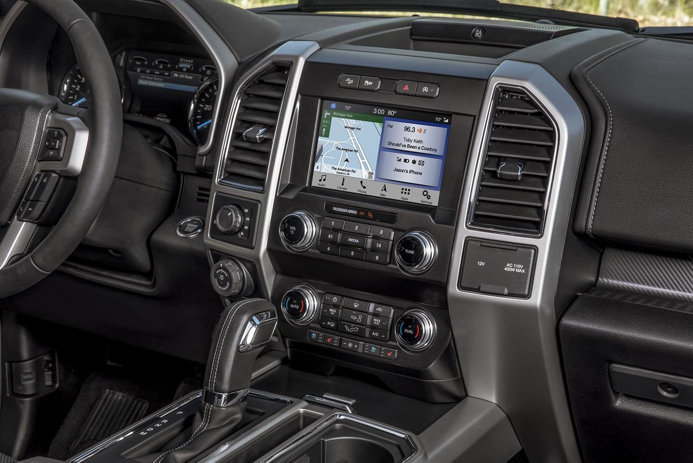 2020 Ford F-150 Dashboard